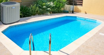 pool with heat pump