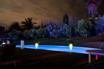 Pool and garden lighting
