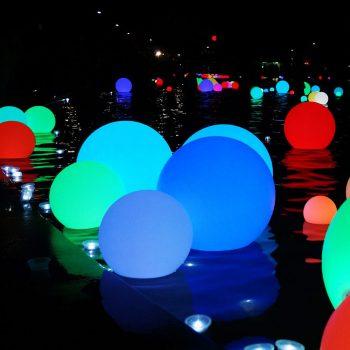 LED Outdoor Ball Light