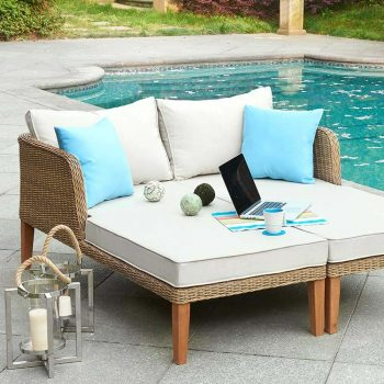 Country Style Outdoor Daybed