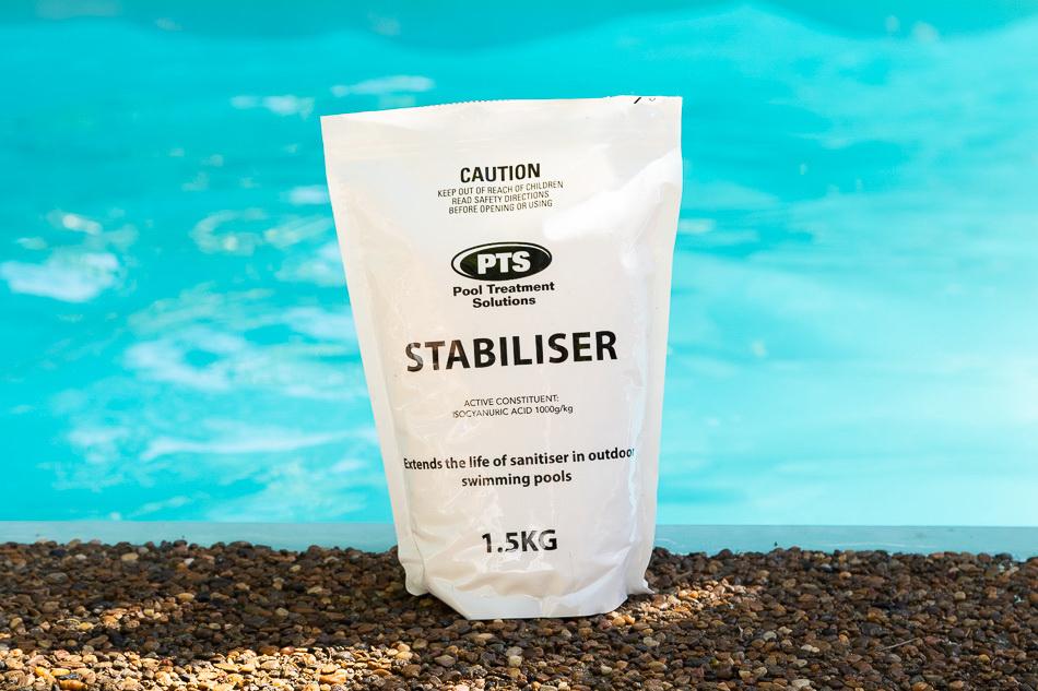 swimming pool water stabiliser