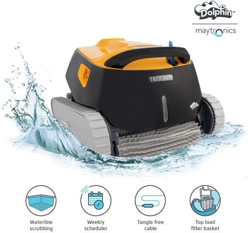 Dolphin-Triton-PS-Automatic-Robotic-Pool-Vacuum