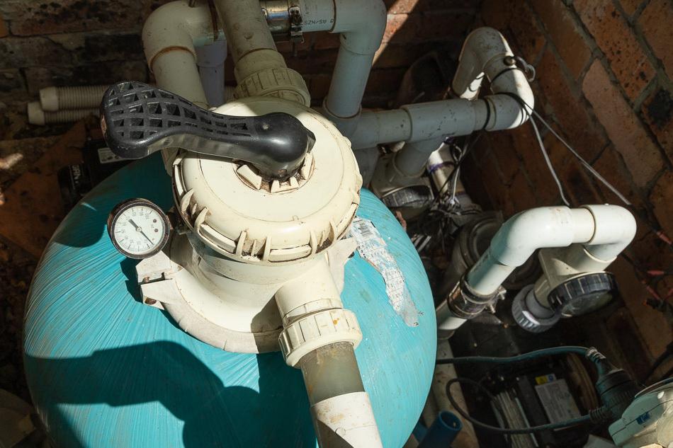 pool pump and equipment
