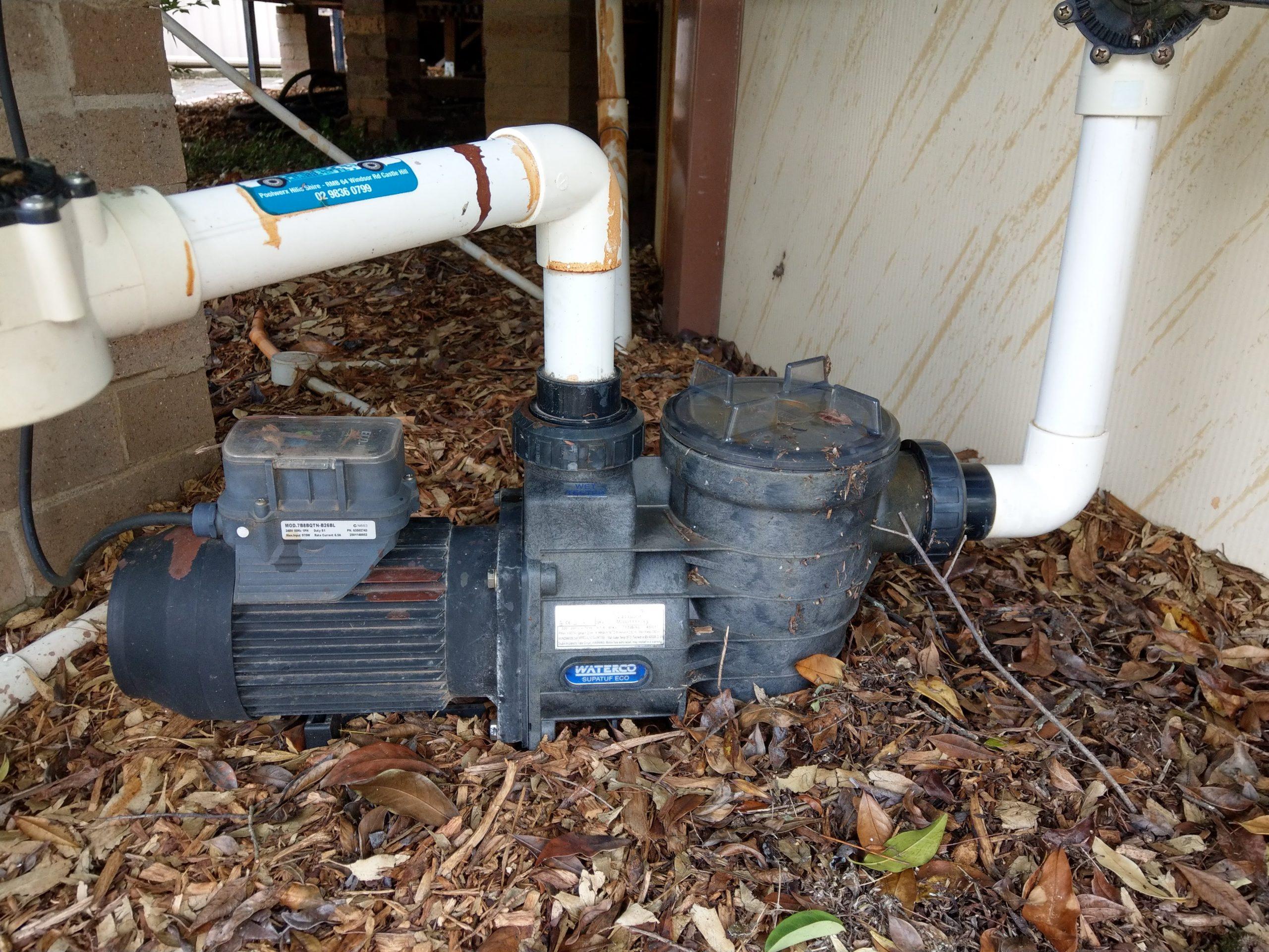 pool filter pump