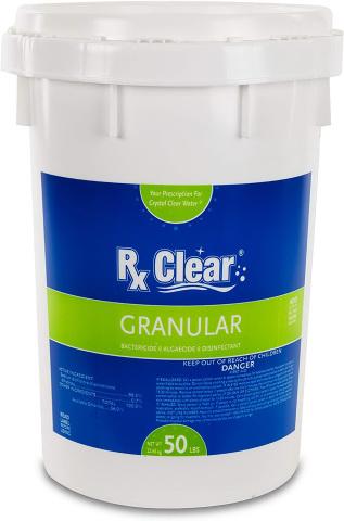 Rx Clear Stabilized Granular Chlorine