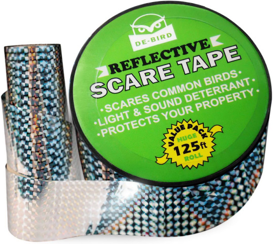 bird scare tape