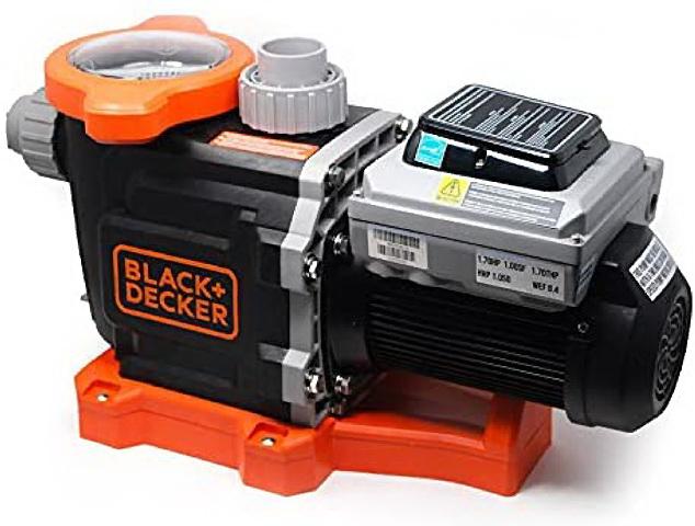 BLACK+DECKER 2hp Variable Speed Swimming Pool Pump