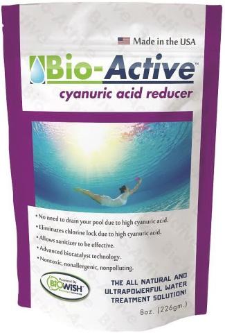 Bio-Active Cyanuric Acid Reducer