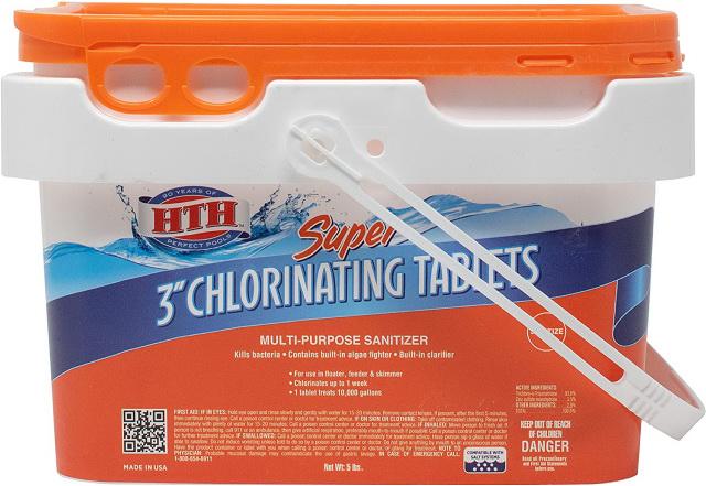 HTH 5-pound chlorine tablets