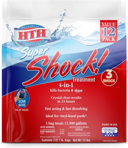 HTH 52026 Super Shock Treatment
