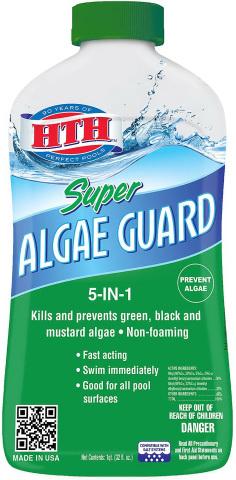 HTH 67032 Super Algae Guard Swimming Pool Algaecide Cleanser